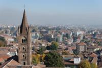 Vue Depuis Le Castello Di Rivoli Turin